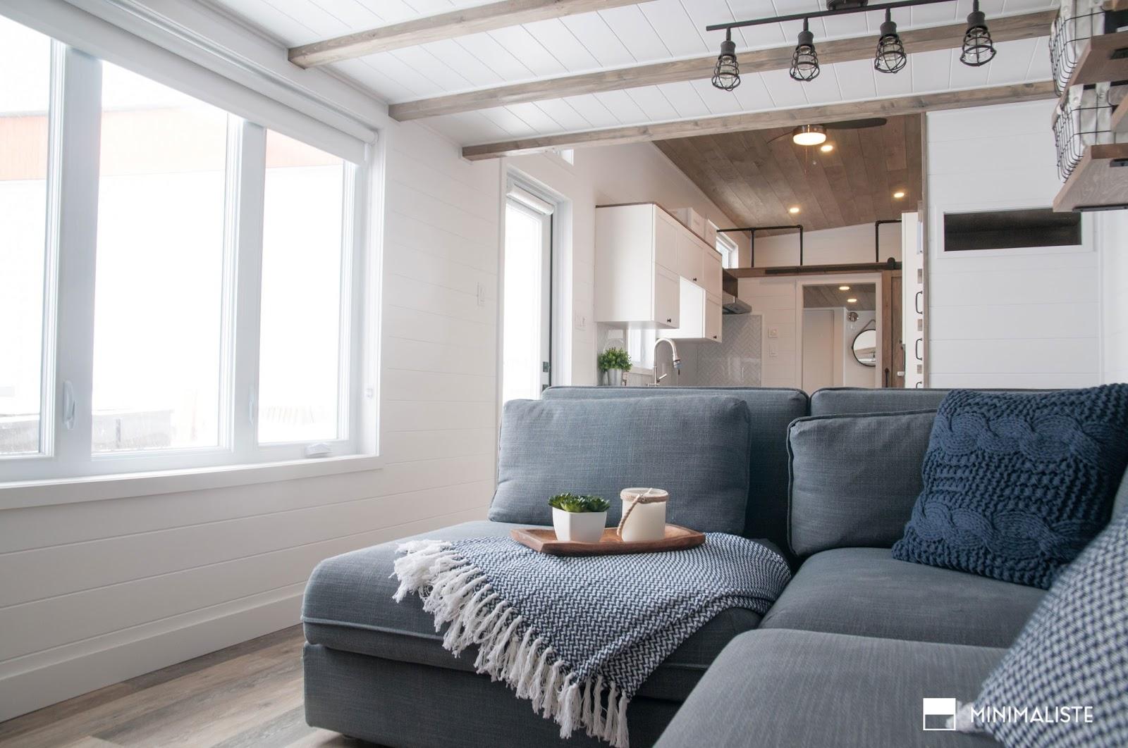 Harvard Designed Tiny Homes: TINY HOUSE TOWN: The Ébène From Minimaliste