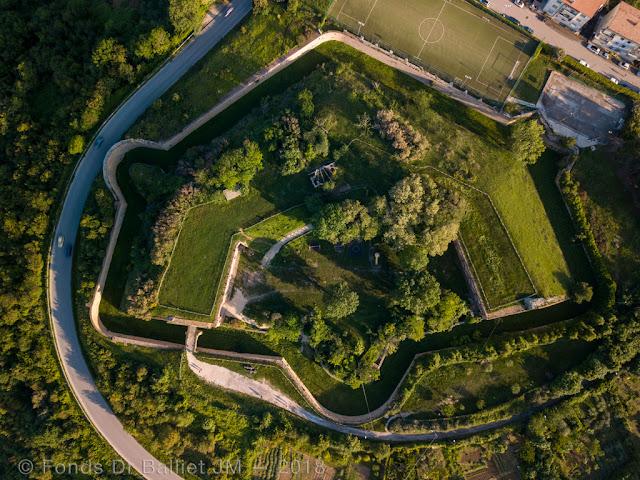 Forte Altavilla — Vue d'apex