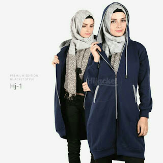 HIJACKET BASIC JAKET HIJAB PREMIUM FLEECE ORIGINAL Rp134.000-Rp149.000