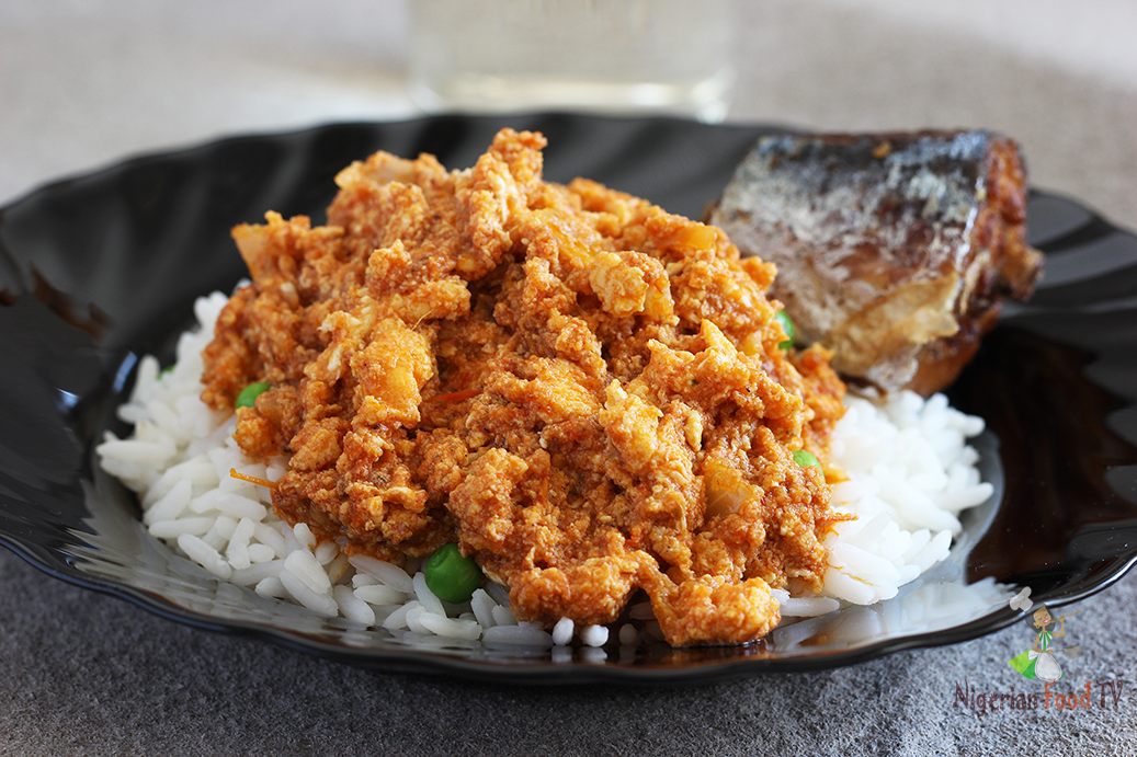 egg sauce Nigerian Egg Stew