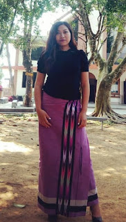 Dress of The Mizos in Mizoram