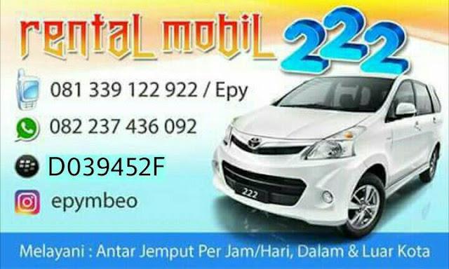 4 Rental Mobil dan 1 Rental Mobil Lepas Kunci Kupang