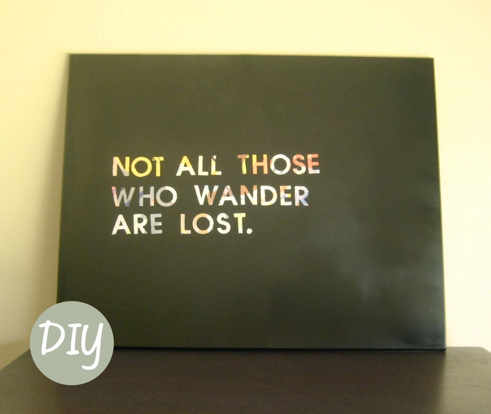 Diy Wall Art Quotes. QuotesGram
