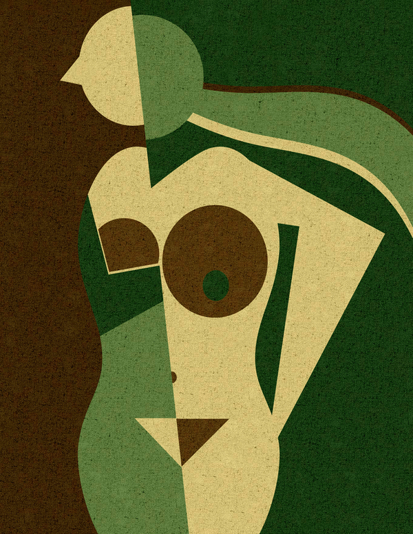 ©Eisen Bernardo - Erotique Cubism. Ilustración | Illustration