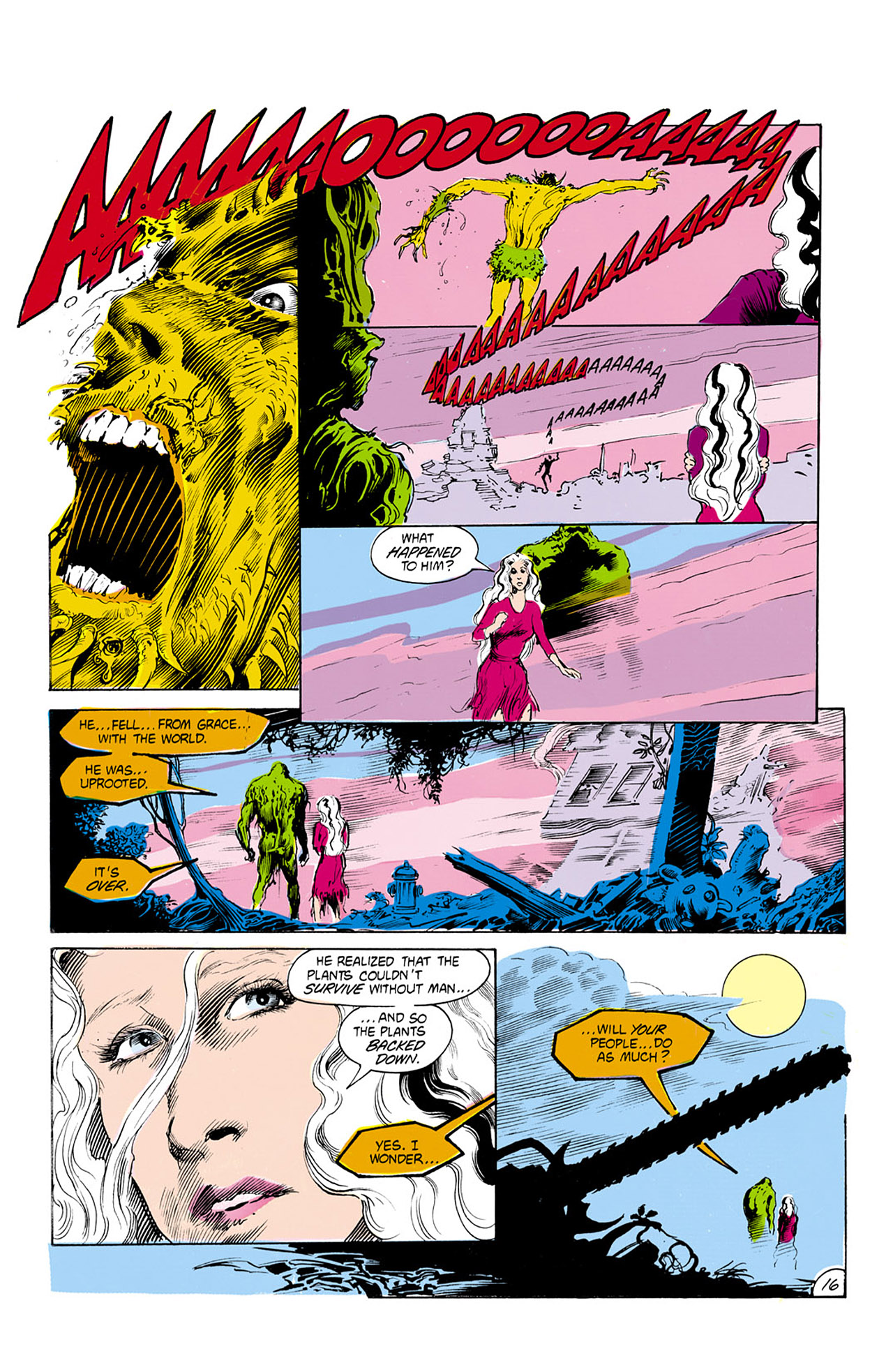 Swamp Thing (1982) Issue #24 #32 - English 17