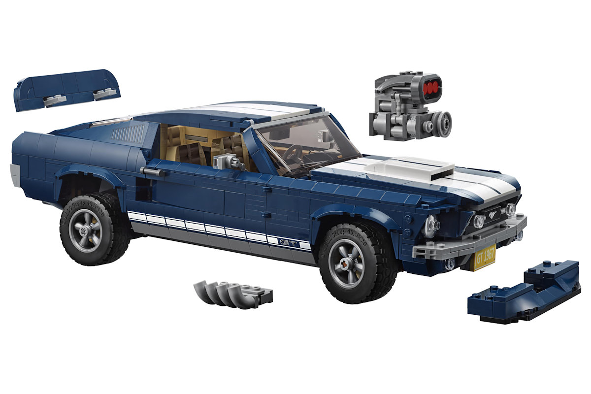 Ford Allows Lego Builders To Customize A 1967 Mustang With This Kit