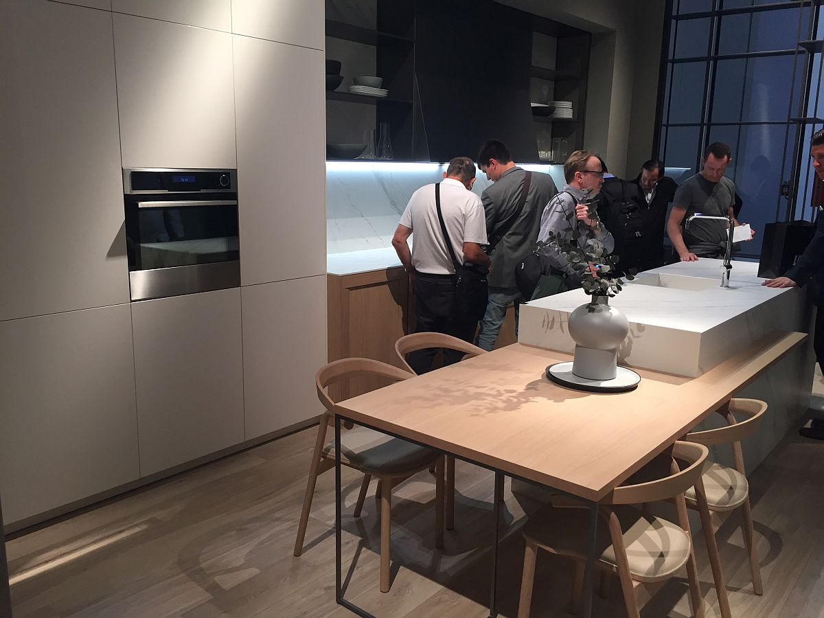 Cozinhas do Salão do Móvel de Milão 2016 Design Innova #995E32 1200 900