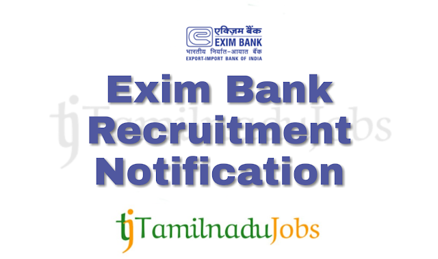 Exim Bank Recruitment notification of 2018 - Banking sector for Management Trainee (MT) - 20 post