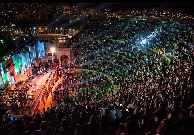 """موعد وفعاليات حفل مهرجان """"جرش"""" بالأردن 2018"""