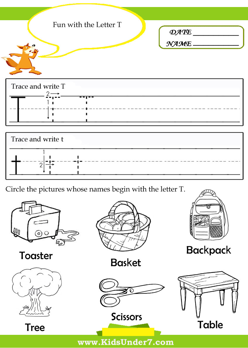 Displaying 15> Images For - Letter T Worksheet Preschool...