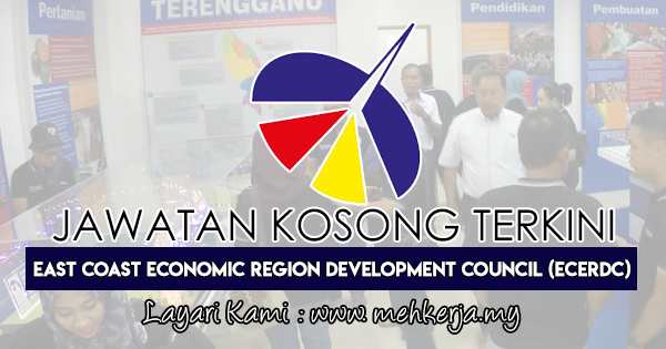 Jawatan Kosong Terkini 2018 di The East Coast Economic Region Development Council (ECERDC)