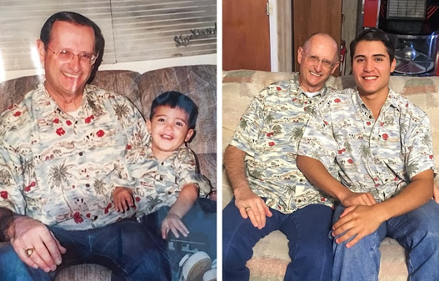 16 anos se passaram e o meu pai continua o mesmo