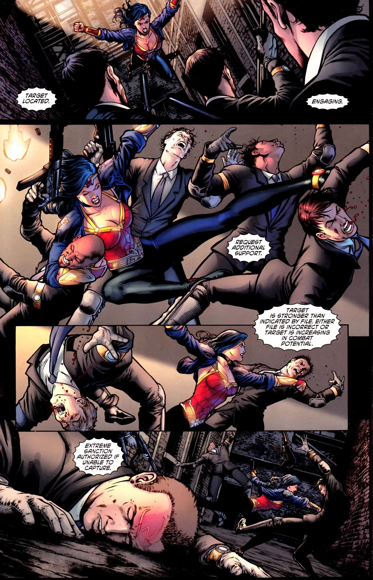 Read online Wonder Woman (2006) comic -  Issue #600 - 38