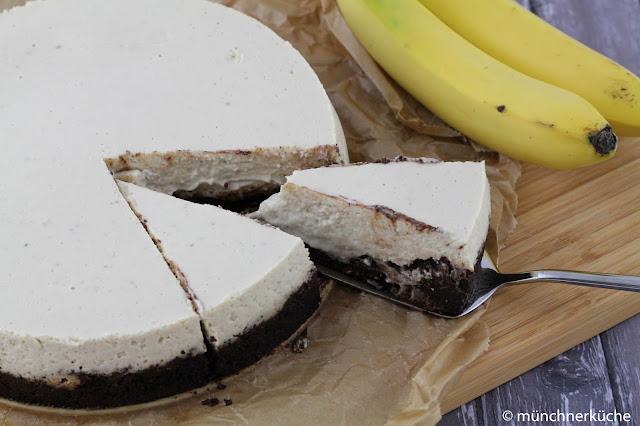 Gluten Free Banana Cheesecake