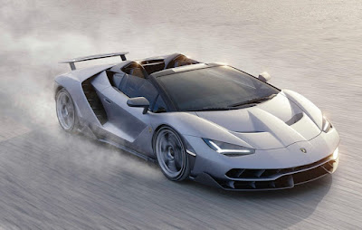 Lamborghini Centenario Roadster Top Speed