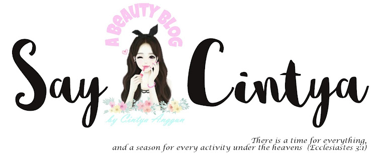 Cintya's Beauty Blog - Indonesian Beauty Blogger