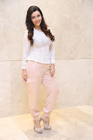 Kyra Dutt in Tight White Top Trousers at Paisa Vasool audio success meet ~  Exclusive Celebrities Galleries 037.JPG