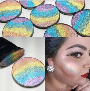 prism iluminador arco-iris