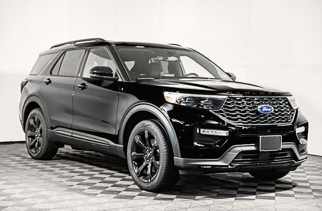 black-ford-explorer-hybrid