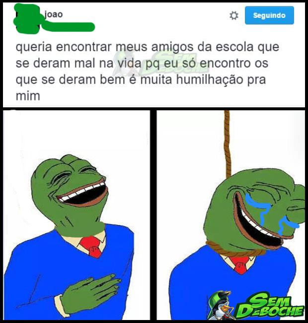 NINGUÉM GOSTA DE LEMBRAR DO TEMPO DA ESCOLA