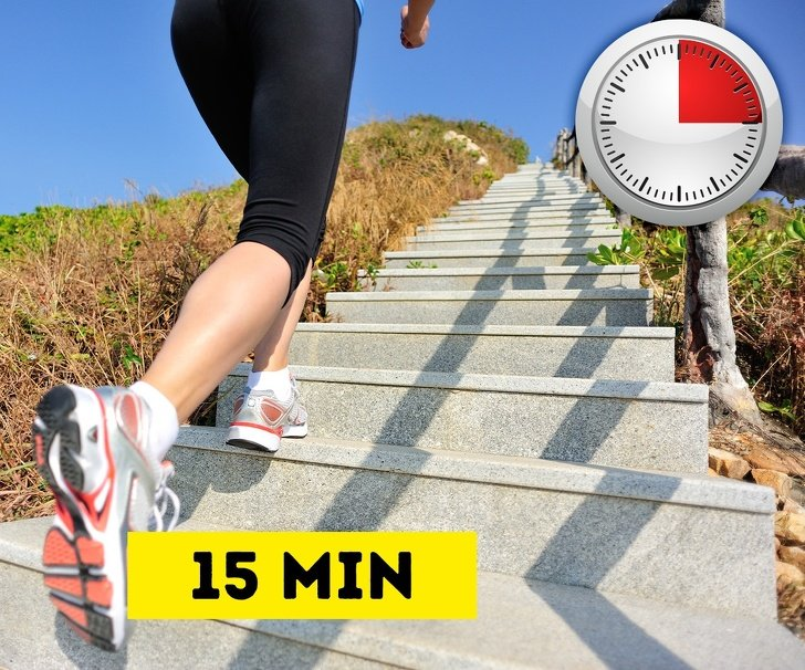 15 minutes of exercise to burn belly fat