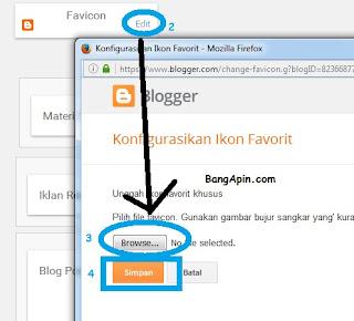 Membuat dan Memasang Favicon Pada Blog