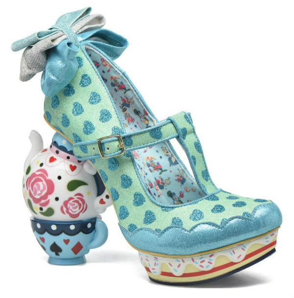 Irregular Choice Disney Alice In Wonderland my cup of tea blue
