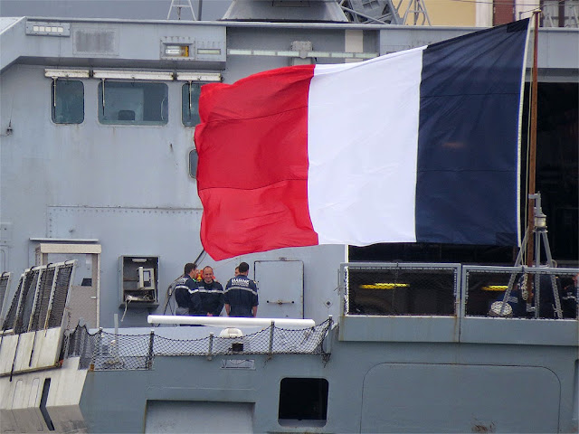 French frigate Surcouf F711, port of Livorno