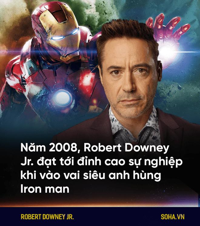 Tài tử Iron man: Nghiện ngập, tù tội và trỗi dậy kinh ngạc từ vực thẳm -10