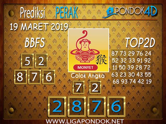 Prediksi Togel  PERAK  PONDOK4D 19 MARET 2019