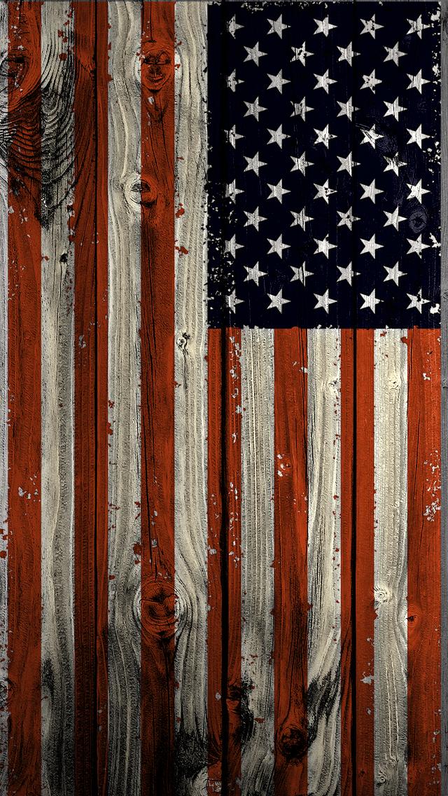Wood Texas Flag Wallpaper