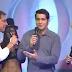 Diomedes Díaz cantando versos con el humorista Camilo Cifuentes e Iván Zuleta en el acordeón