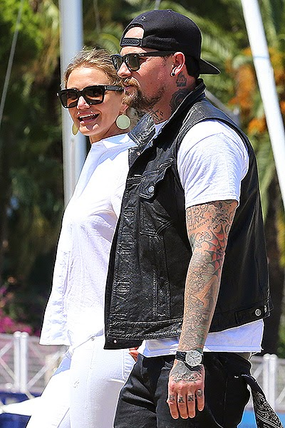 Cameron Diaz and Benji Madden engagement ring