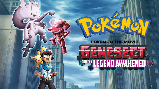 Pokemon Movie 16: Genesect And the Legend Awakened English Dubbed 720p HD-Cartoon Network