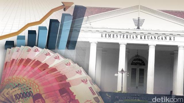 Utang Pemerintah Naik Jadi Rp 4.418 Triliun