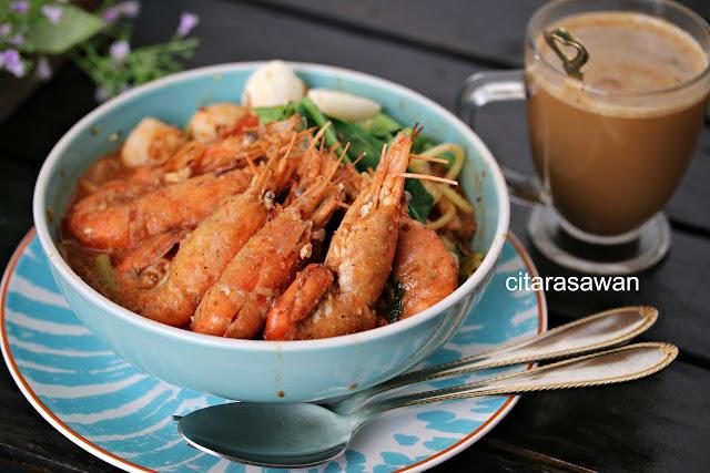 Ciara Cordelia Memoblog Mee Udang Sg Dua