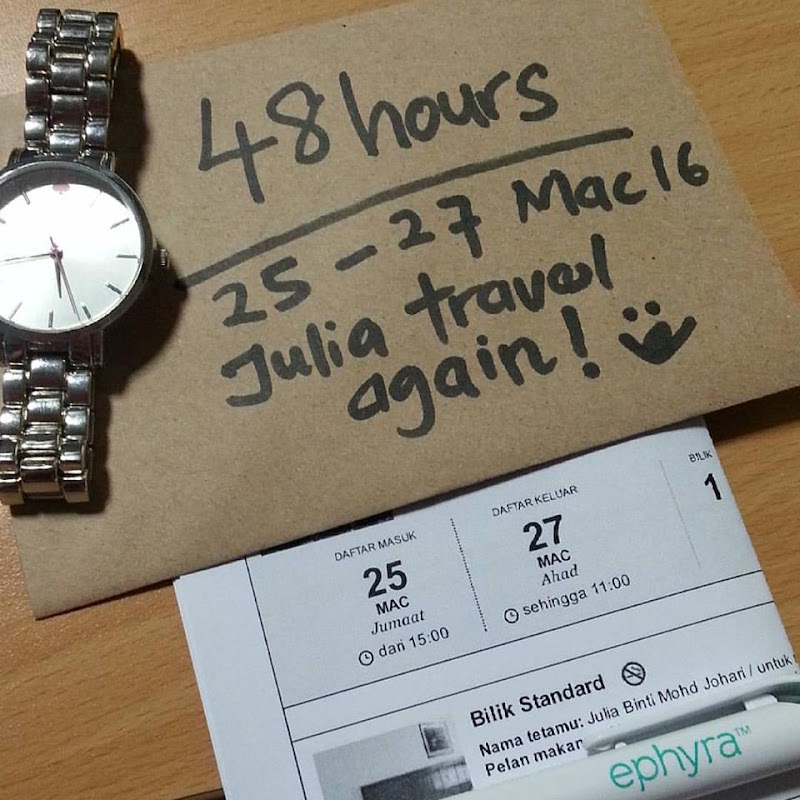 48 Hour's Julia Travel Again Yey!