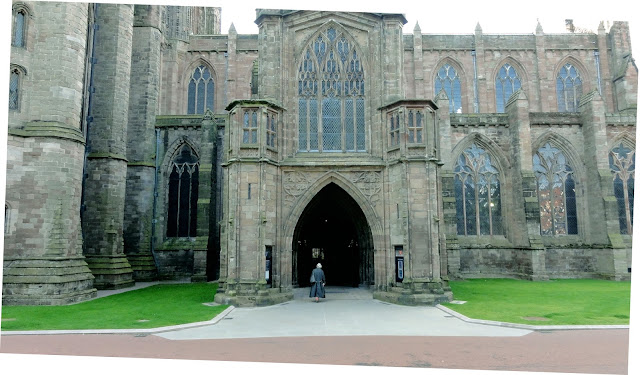 Hereford Cathedral front entrance