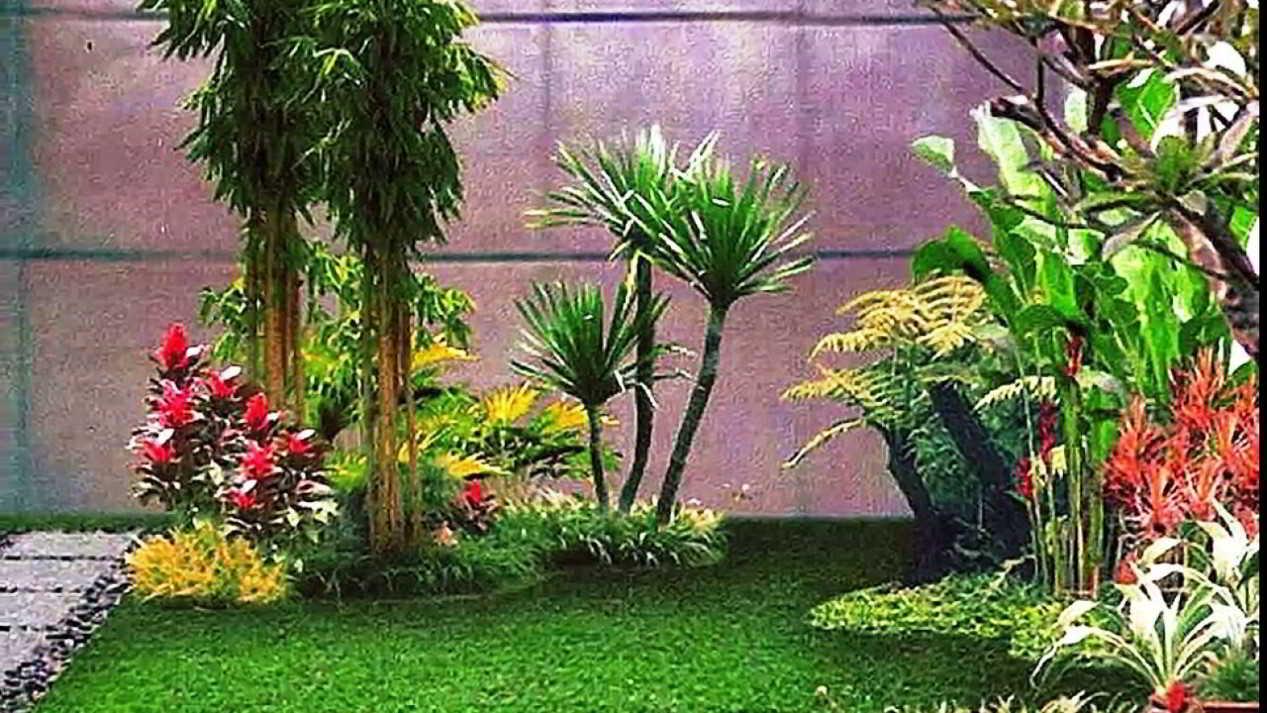 Gambar Desain Taman Minimalis Modern