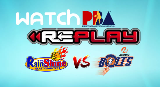 Video List: ROS vs Meralco game replay February 2, 2018 PBA Philippine Cup