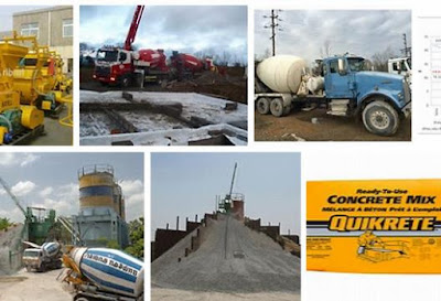 ready mix concrete price list
