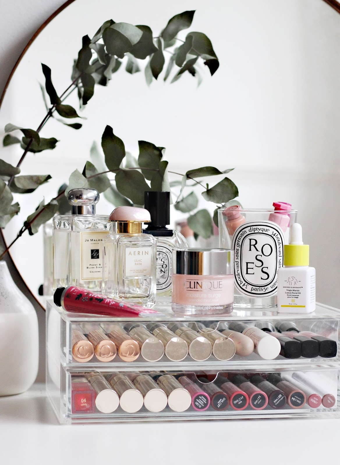 Decluttering and Organising My Makeup Storage