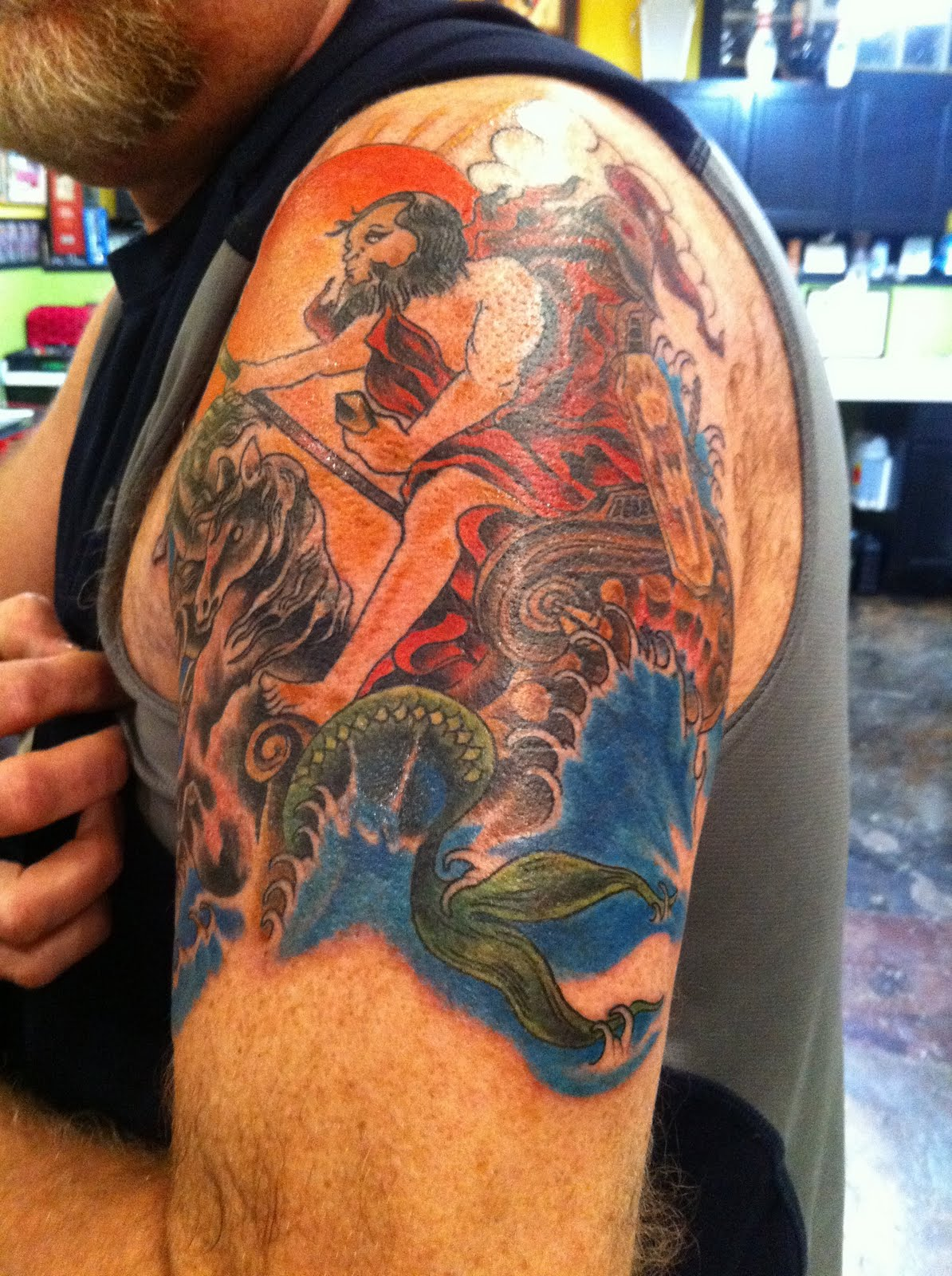 Miss Kitty...Tattoos, Art And Happenings: Chuck's