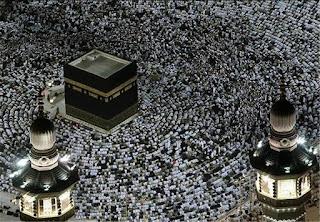 2 εκατομμύρια μουσουλμάνοι για το προσκύνημα