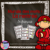 https://www.teacherspayteachers.com/Product/Back-to-School-Word-Wall-Murale-des-mots-pour-la-rentre-French-1333414
