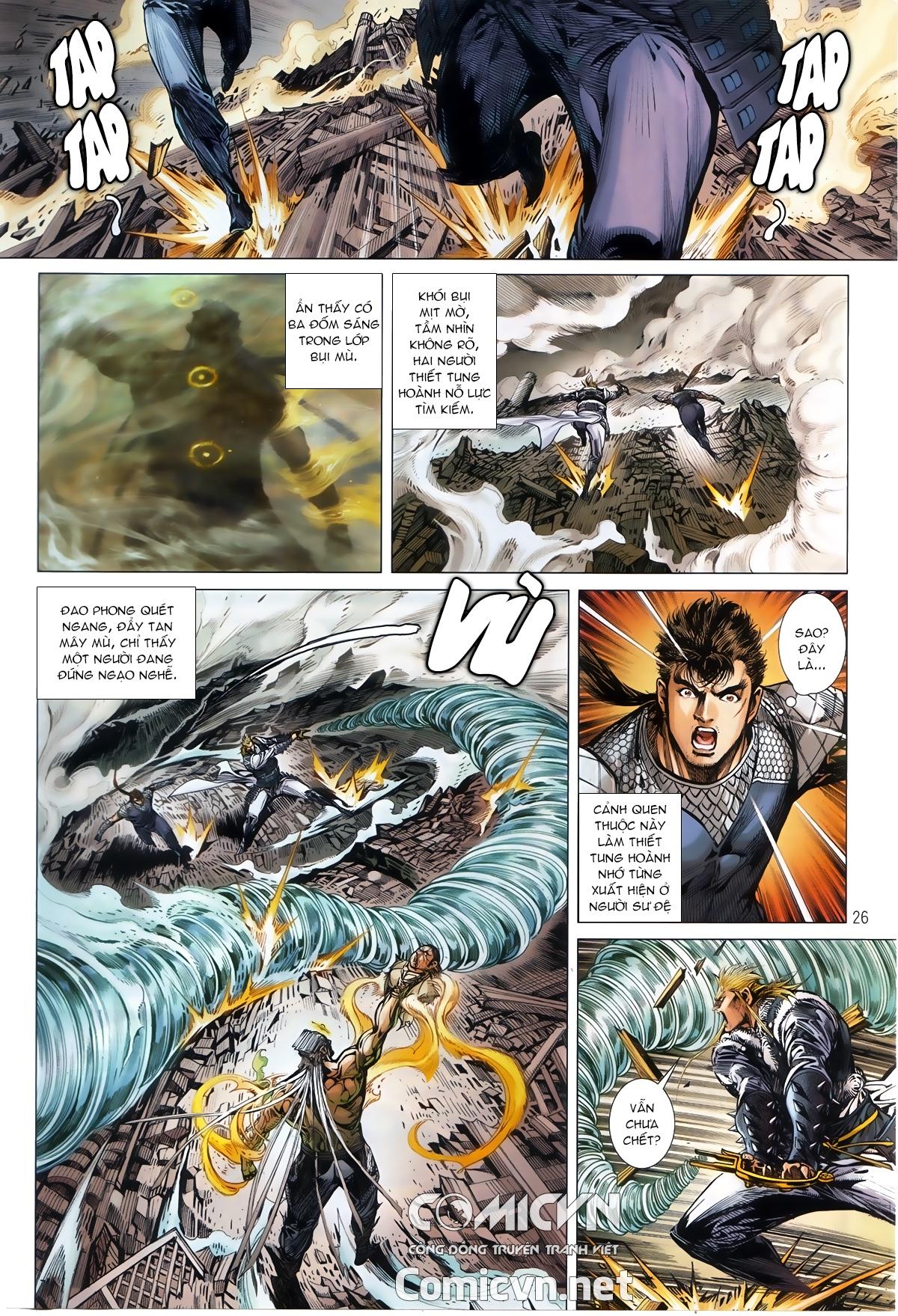 Thiết Tướng Tung Hoành chap 245 - Trang 23