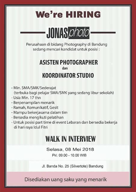 Walk In Interview Jonas Photo