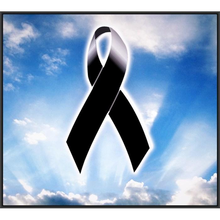 Imágenes de Luto y Duelo para dar pésame y condolencias para perfil. Lazos, moños, listones, insignia, señal, símbolo, signo, logo, cintillo, cinta grande, fondos negros.