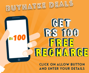 (Loot Back Again) Online Buyhatke Loot - Refer 10 Freinds & Get Free Rs 100 Recharge