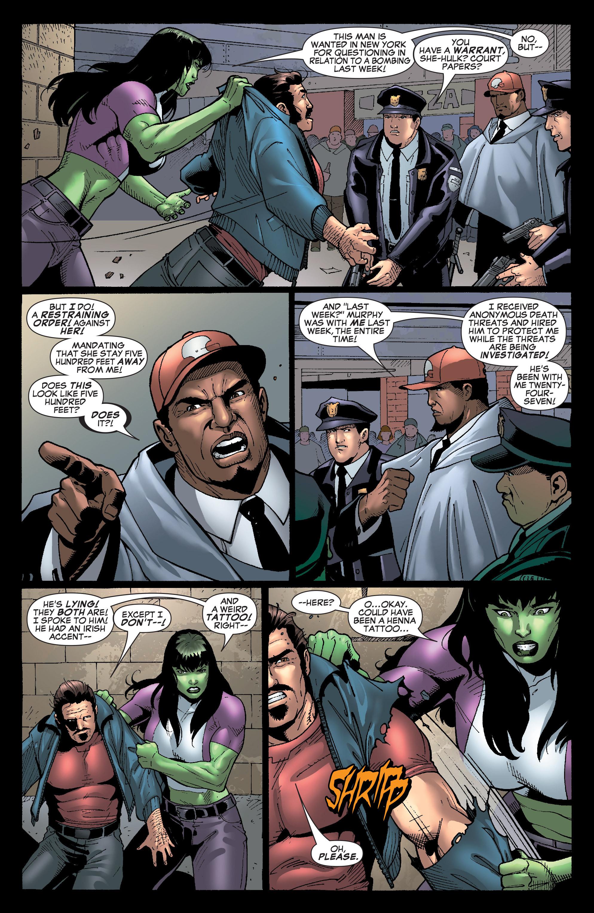 Read online She-Hulk (2005) comic -  Issue #28 - 22